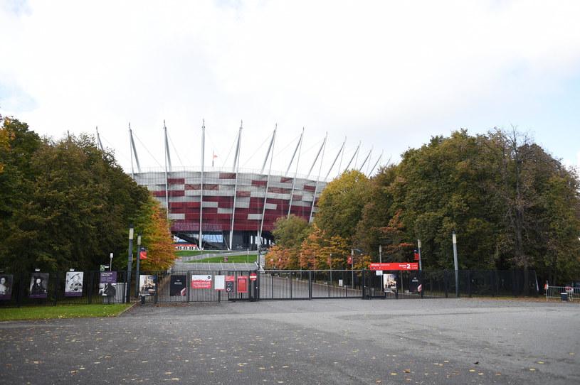 Na Stadionie Narodowym w stolicy powstaje szpital tymczasowy /Zbyszek Kaczmarek/REPORTER /Reporter