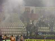 Na stadionie Widzewa było gorąco /www.widzew.pl
