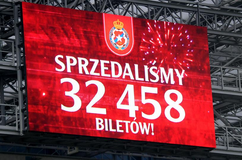 Na stadionie Wisły padł rekord frekwencji /Joanna Żmijewska /INTERIA.PL