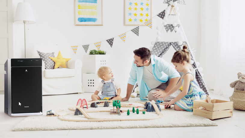 Na stan dziecięcego organizmu wielki wpływ mają również bakterie i wirusy obecne w naszym domowym powietrzu /materiały promocyjne