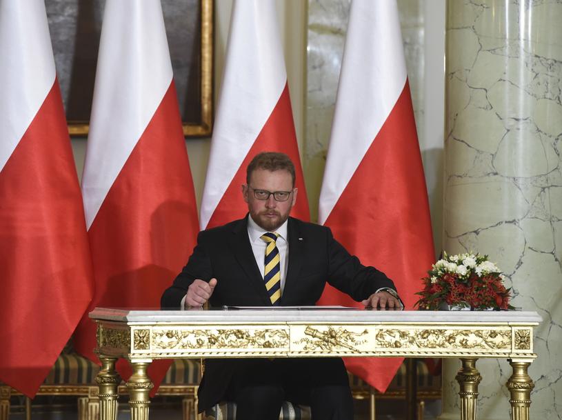 Na stanowisko ministra zdrowia zaprzysiężony został Łukasz Szumowski /Radek Pietruszka /PAP