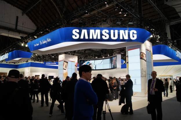 Na stoisku Samsunga dużo się działo /INTERIA.PL
