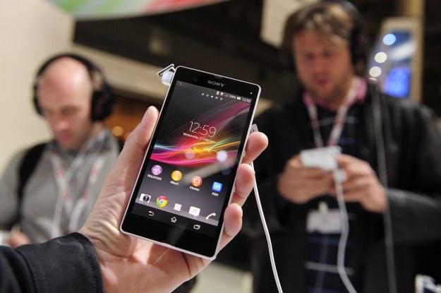 Na sukces Sony złożyło się również świetne przyjęcie smartfona Xperia Z /AFP