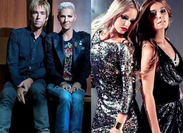 Na sylwestra zobaczymy m.in. Roxette i Ace Of Base (na zdjęciu z prawej dwie nowe wokalistki) /