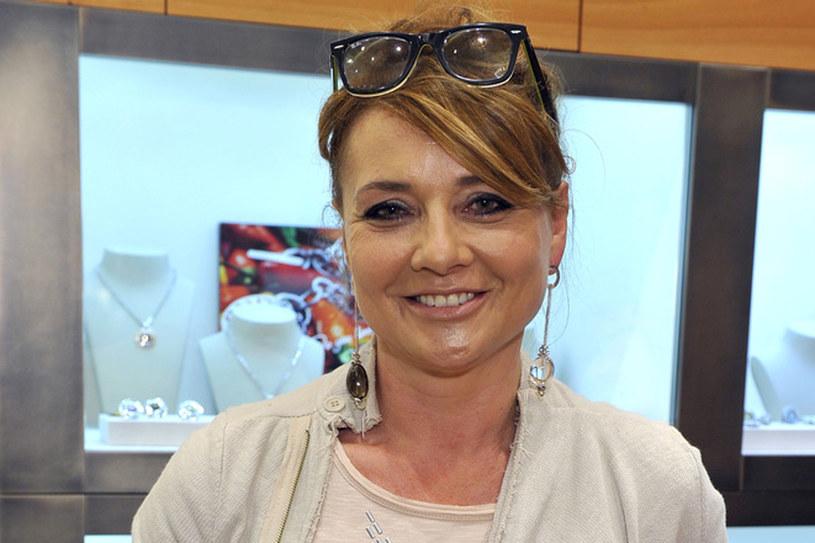 """Na szczęście Małgorzata Ostrowska-Królikowska szybko otrząsnęła się po """"stracie"""" Ryśka /Kurnikowski /AKPA"""
