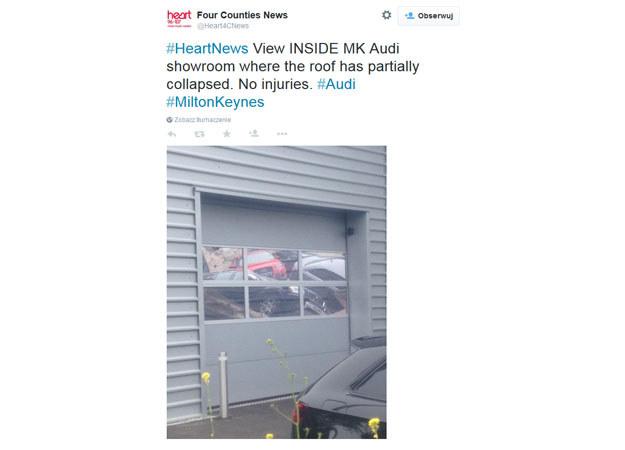 Na szczęscie nikt nie został ranny /Twitter
