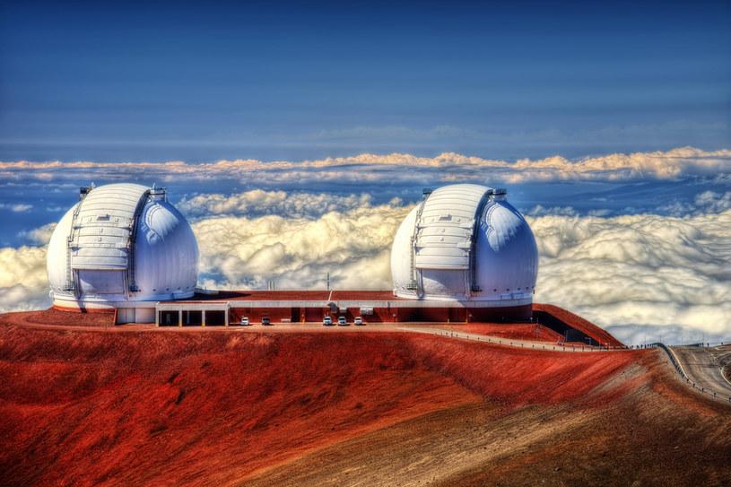 Na szczycie Mauna Kea znajduje się obserwatorium astronomiczne /123RF/PICSEL