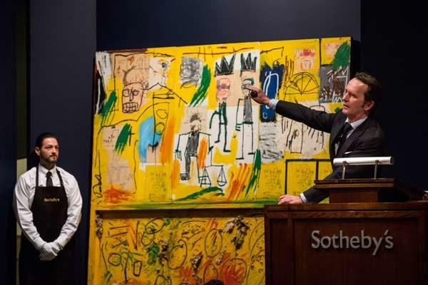 Na szczycie znalazł się Jean-Michel Basquiat /AFP