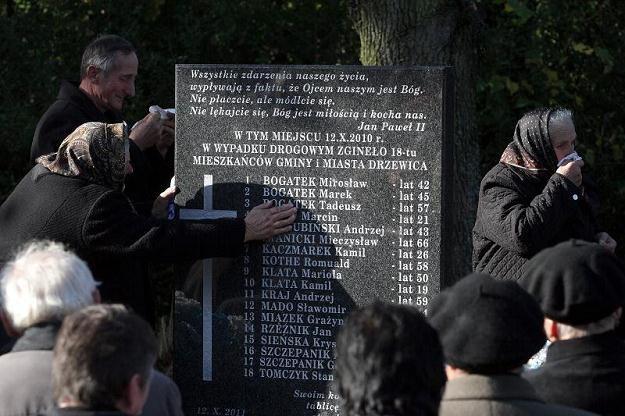 Na tablicy figuruje 18 nazwisk... /PAP