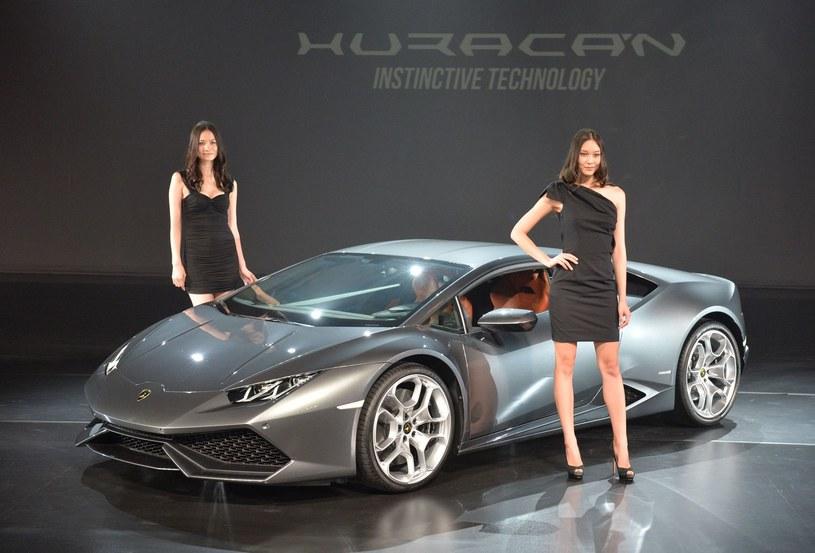 Na takie Lamborghini (Huracan LP 610-4)  na pewno stać Radamela Falcao. /AFP