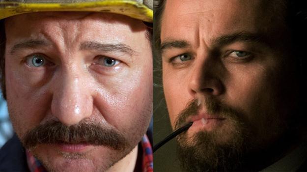 Na te role czekamy - Robert Więckiewicz jako Lech Wałęsa i Leonardo DiCaprio jako Calvin Cancie /materiały prasowe