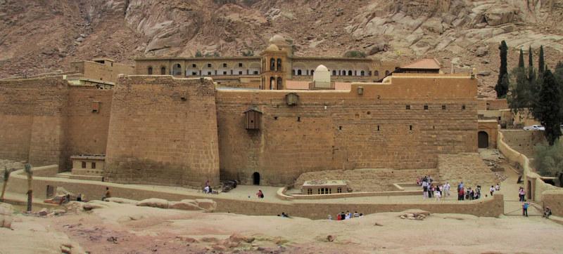 Na terenie Klasztoru Świętej Katarzyny  znajduje się... muzułmański meczet z IX wieku  /© Panthermedia