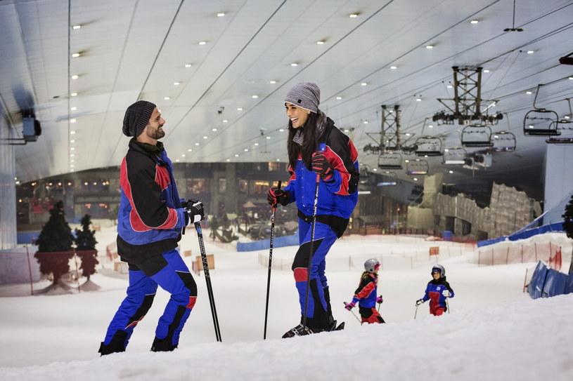 Na terenie Ski Dubai znajdziemy aż pieć zadaszonych stoków /materiały prasowe