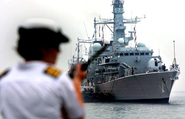 Na terenie Szkocji stacjonuje m.in. 16 okrętów marynarki wojennej. /AFP