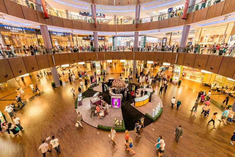 Na terenie The Dubai Mall mieści się ponad 1200 sklepów i 200 punktów gastronomicznych /123RF/PICSEL
