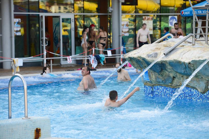 Na termach możemy korzystać z basenów, masaży, saunarium i tężni solankowej /    Adam STASKIEWICZ /East News