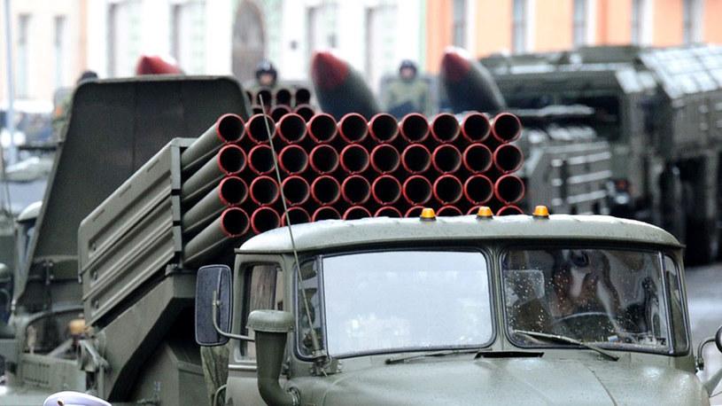 """Na terytorium Ukrainy wwieziono z Rosji trzy systemy rakietowe """"Grad"""". /AFP"""