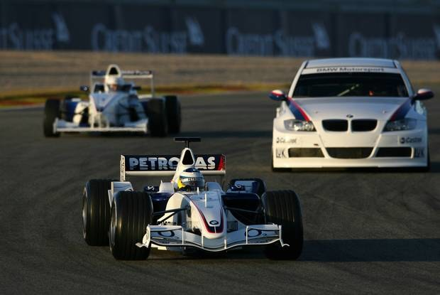 Na torze Heidfeld, Muller i Kubica / Kliknij /INTERIA.PL
