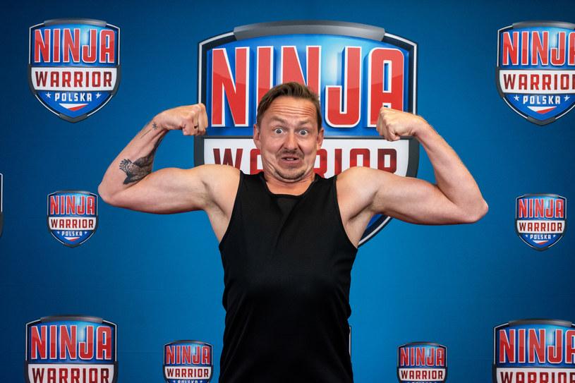 Na torze Ninja Warrior nie ma czasu na żarty /Polsat