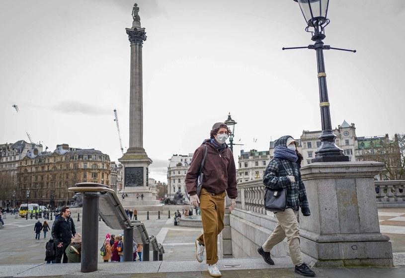 Na Trafalgar Square w Londynie /AFP