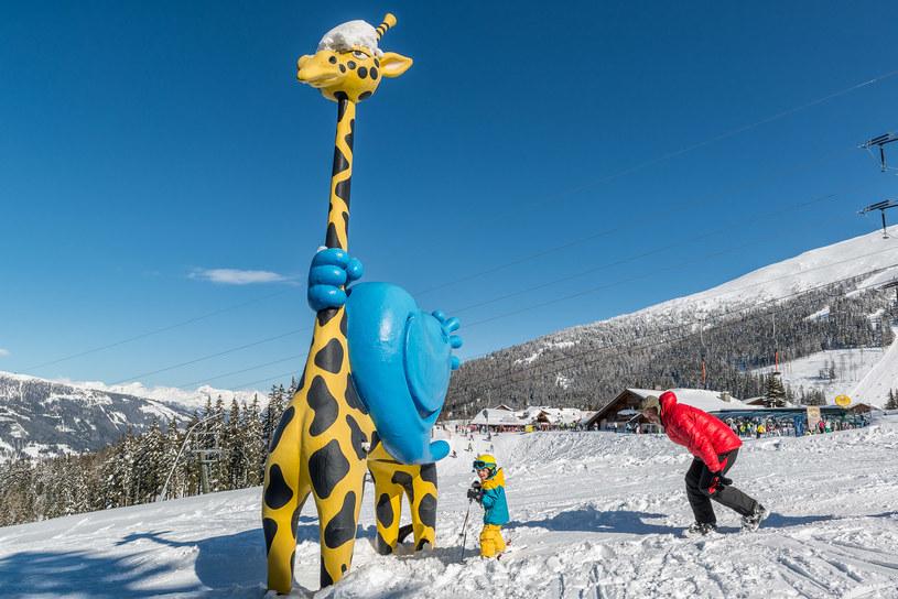 Na trasach dla dzieci znajdują się specjalne atrakcje /fot. Tourismusregion Katschberg/Rennweg /materiały prasowe