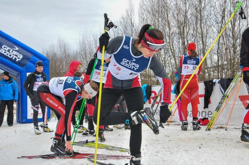 """Na trasach """"Pod Żukowem"""" rywalizowało blisko 300 zawodniczek i zawodników /Informacja prasowa"""
