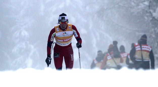Na trasie Marit Bjoergen. Fot. Grzegorz Momot /PAP