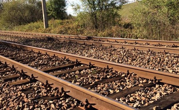 Na trasie Suwałki-Augustów wykoleił się pociąg towarowy