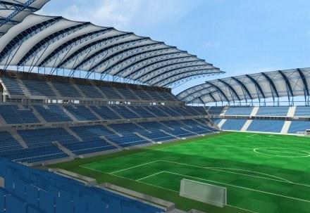 Na tym stadionie odbędą się co najmniej trzy mecze Euro 2012 /Agencja Przegląd Sportowy