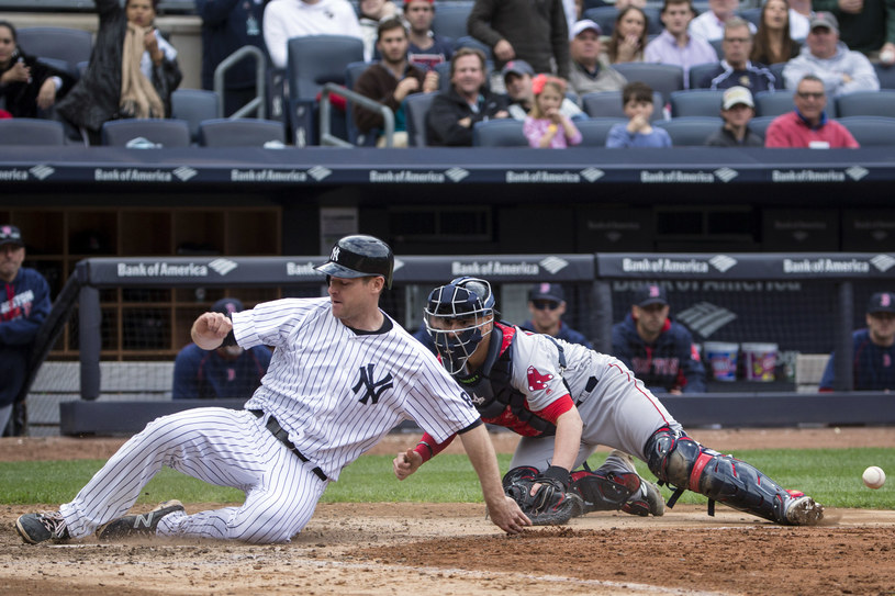 Na tym zdjęciu Anthony Causi uchwycił mecz New York Yankees z Boston Red Sox /Getty Images