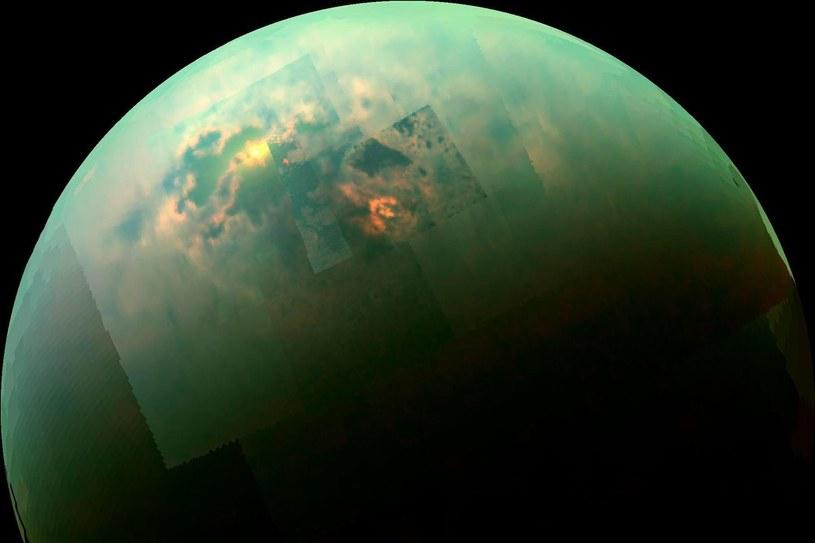 Na Tytanie tworzą się substancje, których nie znajdziemy na Ziemi /NASA