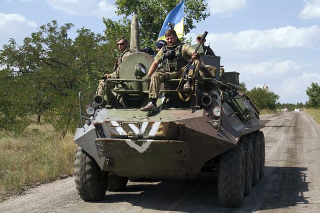 Na Ukrainie trwa regularna wojna fot. Sergey Volskii /AFP