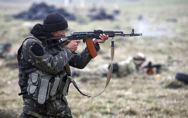 Na Ukrainie trwa wojna fot. Anatolii Stepanov /AFP