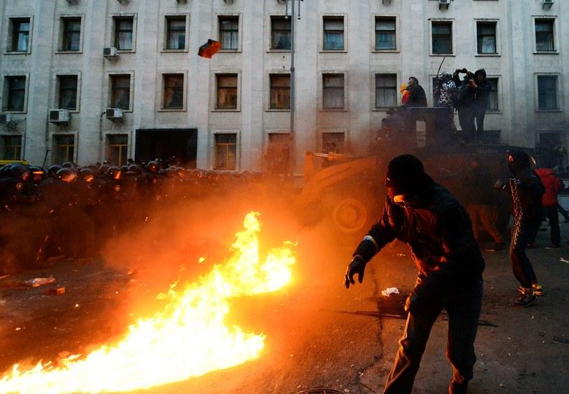 Na Ukrainie trwają protesty /AFP