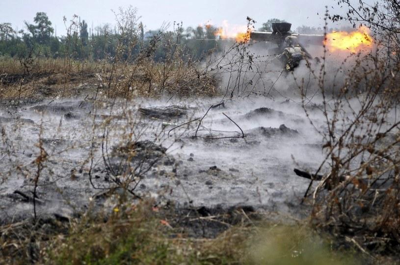 Na Ukrainie trwają walki /PAP/EPA