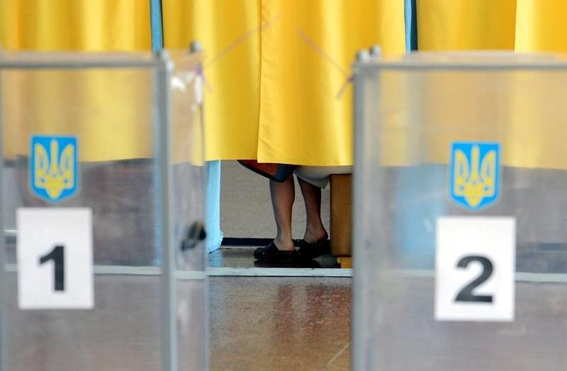 Na Ukrainie trwają wybory prezydenckie /FILIP SINGER /PAP/EPA