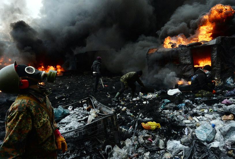 Na Ukrainie wciąż niespokojnie /AFP