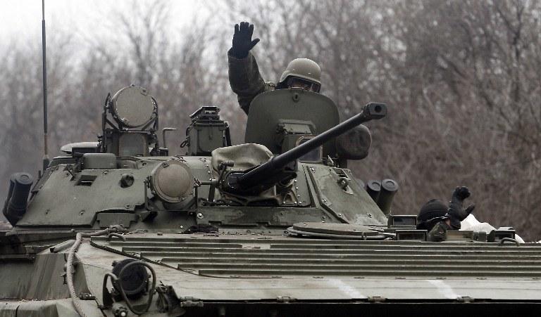 Na Ukrainie wciąż trwają walki, zdj. ilustracyjne /AFP