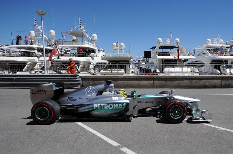 Na ulicach Monaco rządził Rosberg /AFP