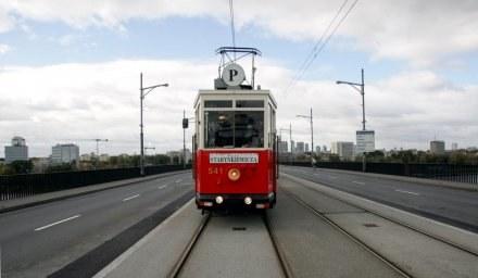 Na ulicach Warszawy odbyła się parada tramwajów/fot. M. Niwicz /Agencja SE/East News