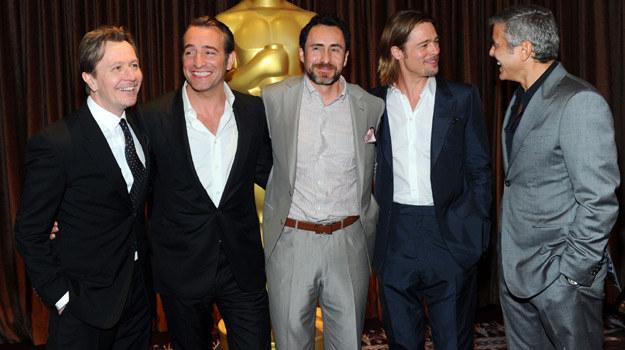 Na uroczystym lunchu byli m.in. wszyscy aktorzy nominowani za główną rolę męską / fot. A. Rodriguez /Getty Images/Flash Press Media