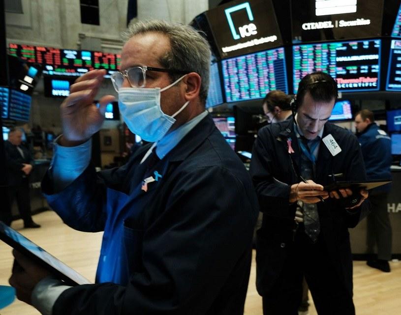 Na Wall Street jest tak dobrze, że aż źle. Nz. parkiet NYSE /AFP