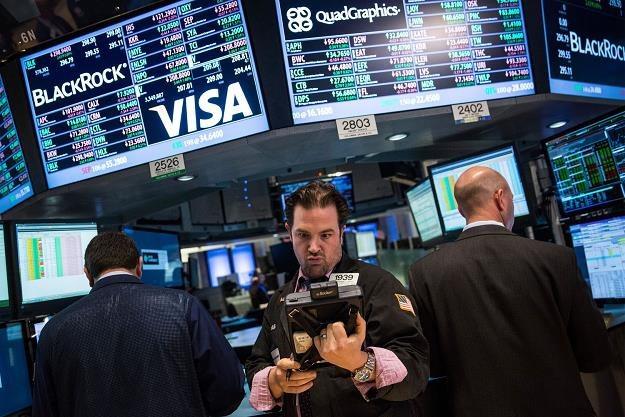Na Wall Street wahanie, po decyzji EBC wzrosty, na koniec dnia spadki /AFP