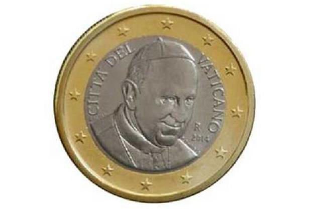 Na watykańskich monetach euro nie będzie już wizerunku papieża /EBC