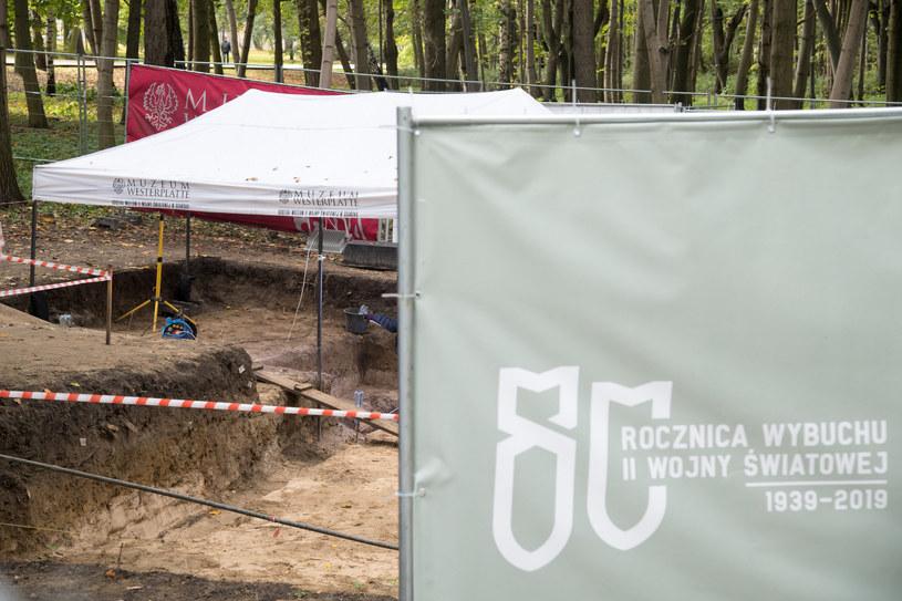 Na Westerplatte trwają prace archeologiczne /Wojciech Strozyk/REPORTER /Reporter