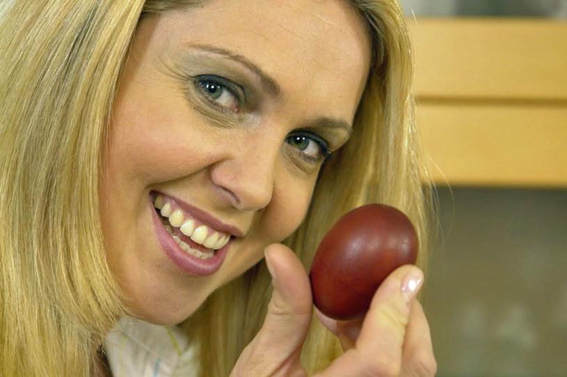 Na wielkanocnym stole Ewy Wachowicz nie może zabraknąć jajek, najlepiej w formie pisanek /archiwum prywatne