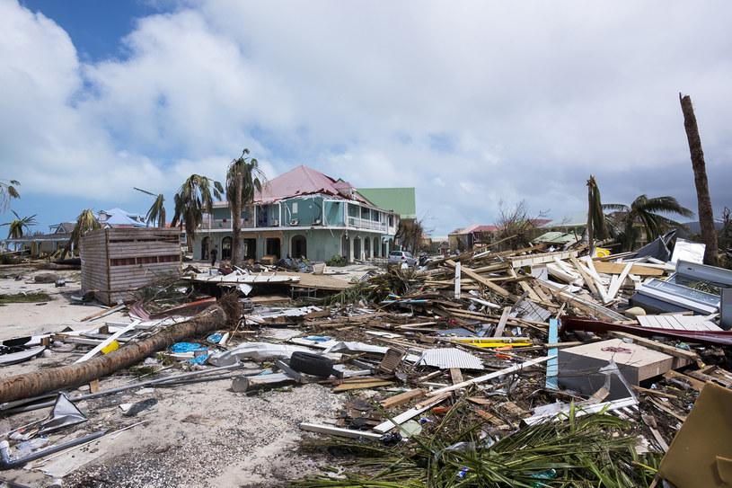 Na wielu wyspach karaibskich huragan spowodował ogromne zniszczenia /AFP