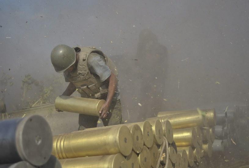 Na wschodzie Ukrainy trwają walki /PAP/EPA