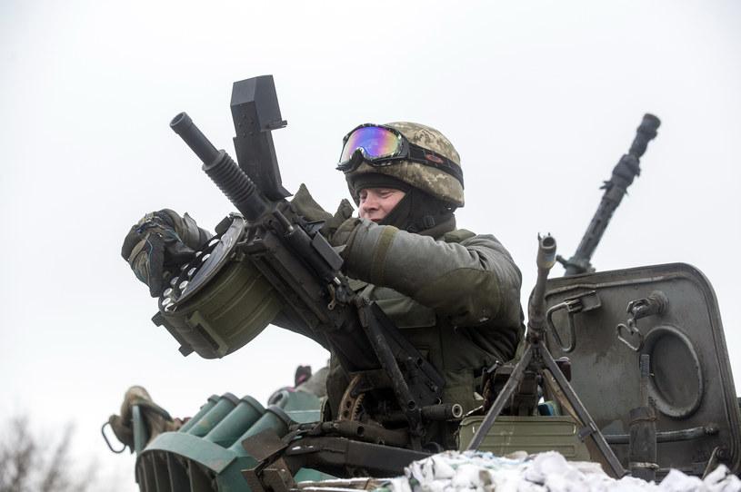 Na wschodzie Ukrainy wciąż trwają walki /AFP