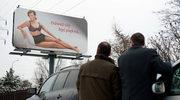 """""""Na Wspólnej"""": Półnaga Monika na billboardach"""